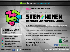 STEM+ WOMEN: Empower. Innovate. Lead.